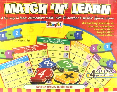 Tanshi Match ,N, Learn Board Game
