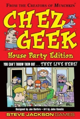 Steve Jackson Games Chez Geek House Party Edition Board Game