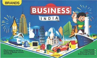 Brands Millenium Business India Board Game