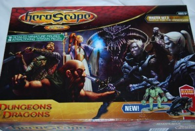 Wizards of the Coast Dungeons & Dragons Heroscape Master Set Board Game