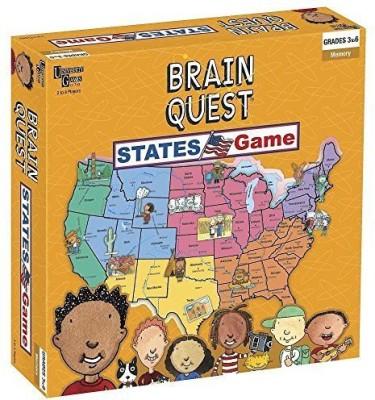 Brain Box Brain Quest States Board Game