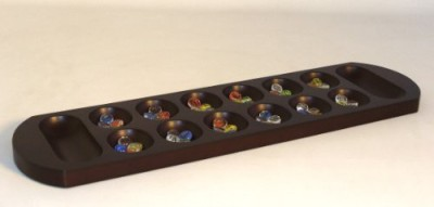 Play All Day Games Jumbo Mancala Board Game