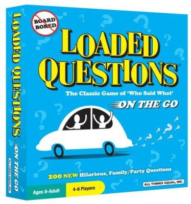 All Things Equal, Inc. Loaded Questions On The Go Travel Board Game