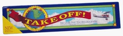 Resource Games Take Off Board Game