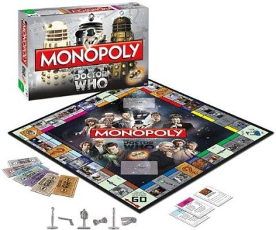 USAopoly Monopoly Dr Who Edition 50Th Anniversary Collector,S Edition Board Game