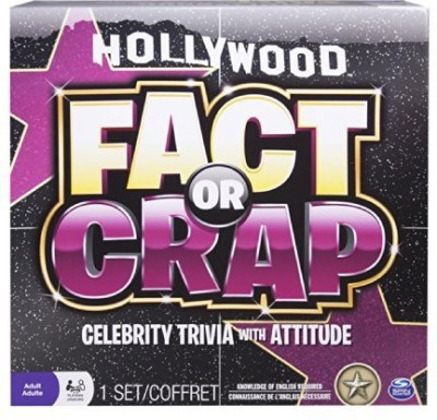 Spin Master Games Fact Or Crap Hollywood Edition Board Game