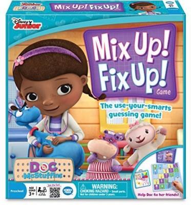 Wonder Forge Doc Mcstuffins Mix Up Fix Up Board Game