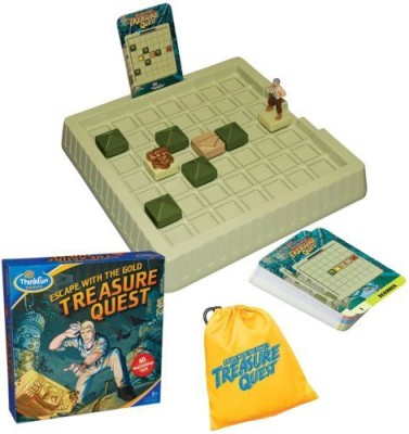 Think Fun Treasure Quest Board Game