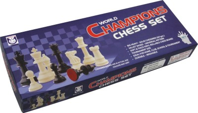 Unique Creations World Champions Chess Set Board Game