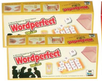 Virgo Toys Word Perfect Mini Board Game