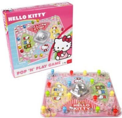 Pressman Toy Hello Kitty Pop N Play Board Game