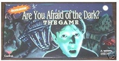 NICKELODION Are You Afraid Of The Dark Nickelodeon Board Game