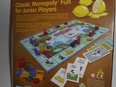Parker Brothers Monopoly Junior Lemonade Board Game