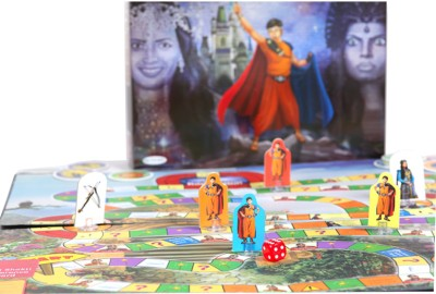 TOY KRAFT Baalveer and the Evils of Bhayankar Pari Board Game