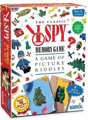 Briar Patch I Spy Memory Board Game