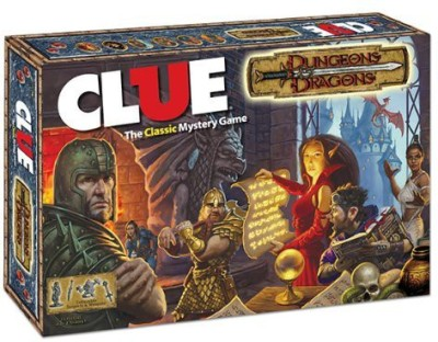 USAopoly Clue Dungeons & Dragons Board Game