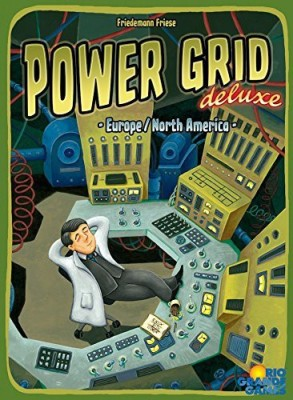 Rio Grande Games Power Grid Deluxe Board Game