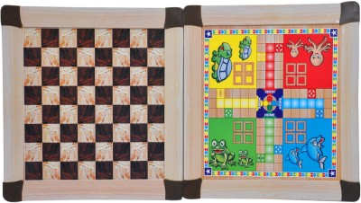 RK Toys Ludo-Chess Board Game