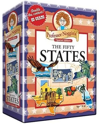 Outset Media Professor Noggin,S The Fifty States Board Game