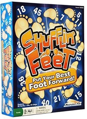 RoosterFin Shufflin Feet Board Game