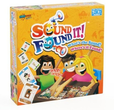 Wowopolis Sound It Found It Board Game