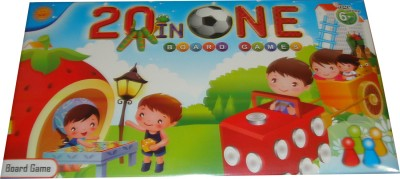 Toyzstation 20 in One Board Game