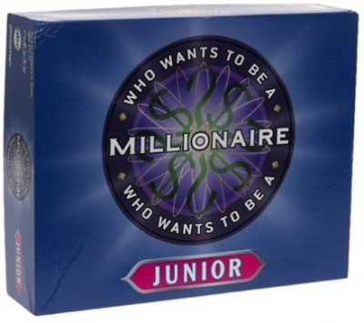 celador Pressman ABC Who Wants To Be A Millionaire? Junior Version Board Game