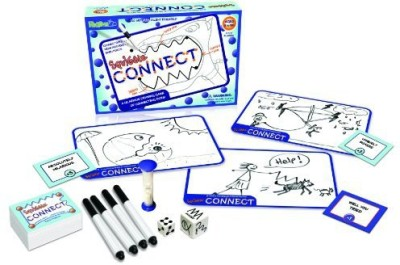 Random Line Squiggle Connect Board Game