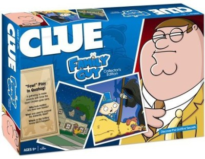 USAopoly Clue Family Guy Board Game
