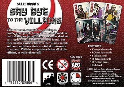 AEG Say E To The Villains Board Game