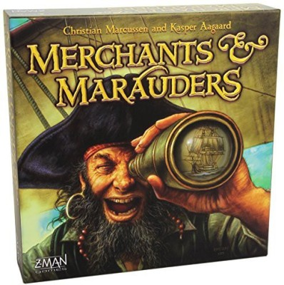 Z-Man Games Merchants And Marauders Board Game