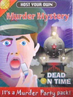 Cheatwell or, in US Jumpin Banana Host Your Own Murder Mystery Dead On Time Board Game