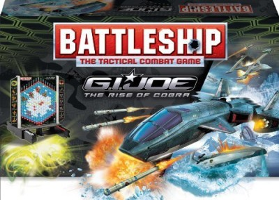 BATTLESHIP Gi Joe The Rise Of Cobra Board Game