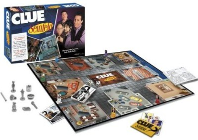 USAopoly Clue Seinfeld Board Game