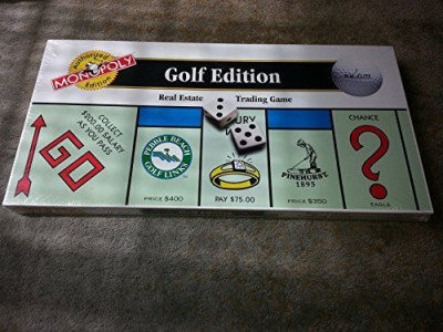 Monopoly The Golf Edition Of The Board Game