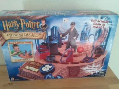 Mattel Harry Potter & The Sorcerer,S Stone Levitating Challenge Board Game