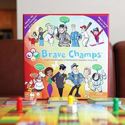 Brave Champs Quick Question Of Identifying Different Professions Board Game