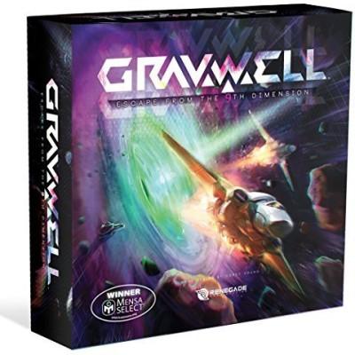 Renegade Game Studios Gravwell Escape From The 9Th Dimension Board Game
