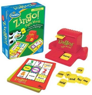 Thinkfun Zingo Sight Words Board Game