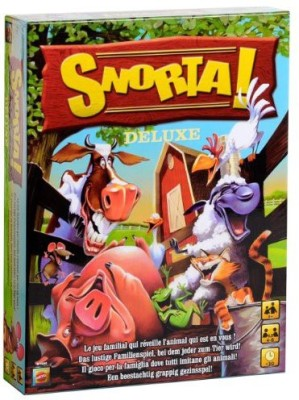 Mattel Snorta The Family Where Everyone Acts Like An Animal Board Game