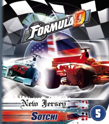 Asmodee Formula D New Jersey/Sotchi Board Game