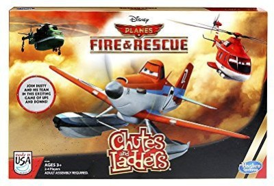 Hasbro Disney Planes Fire And Rescue Chutes And Ladders Board Game