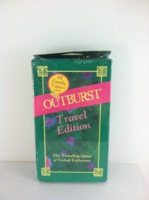Outburst Travel by Hersch & Company Outburst Travel Edition Board Game