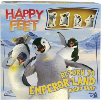 Sababa Toys Sababa Happy Feet Return To Emperor Land Board Game
