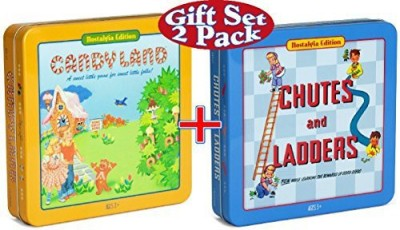 Winning Solutions Candy Land & Chutes And Ladders Deluxe In Nostalgia Board Game