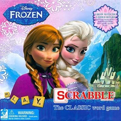 Frozen Scrabble Board Game