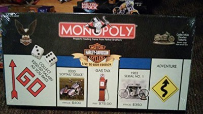 USAopoly Harleydavidson Live To Ride Collector,S Edition Monopoly Board Game