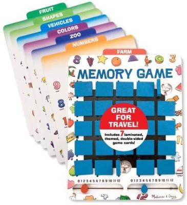 Melissa & Doug Travel Memory Board Game