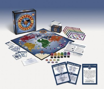 H&H Global Inc Passport To Culture Board Game