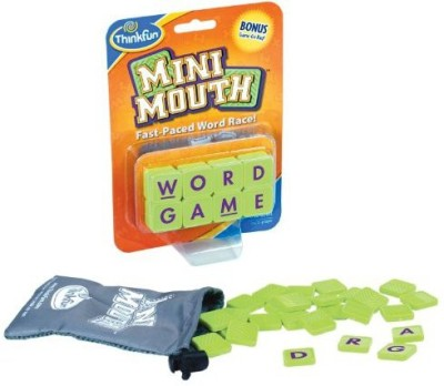 Think Fun Thinkfun Mini Mouth Word Board Game
